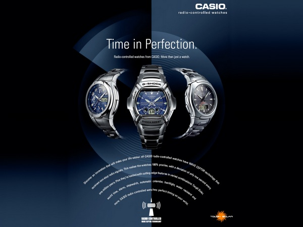 Casio Radio Controlled Watches