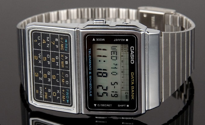 Casio Telememo and Schedule Calculator Watch