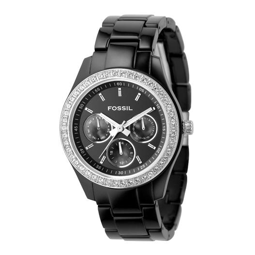 Fossil Multifunction Black Stella Watch