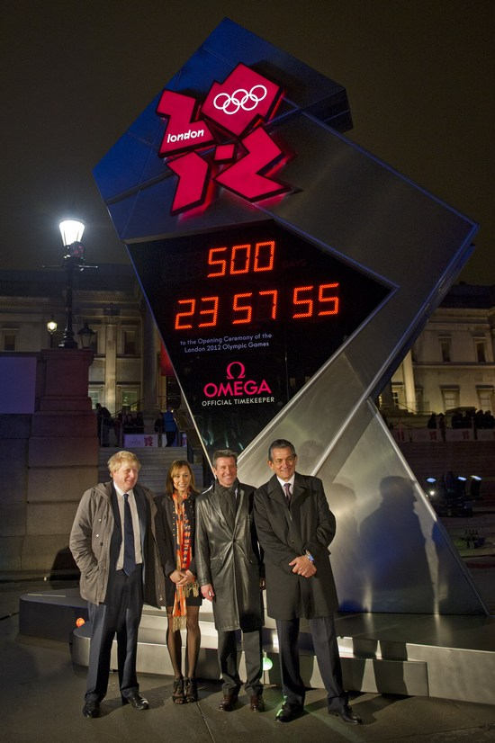 London 2012 Omega Olympic Countdown Clock