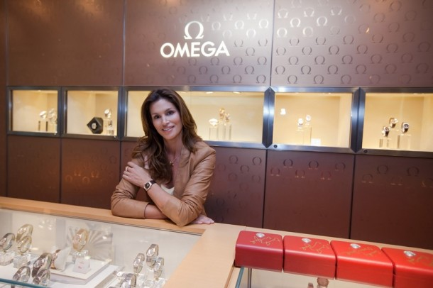 Omega Constellation Ladies Luxury Edition Cindy Crawford