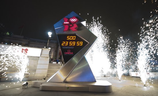 Omega Olympic Countdown Clock