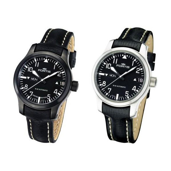 Fortis Flieger-easy-to-read-big-day-date-watch