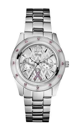 Guess Breast Awareness Watch