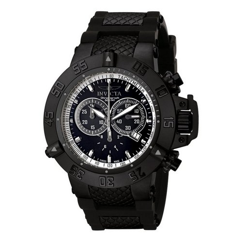 Invicta Subaqua Noma III Flex Ion-Plated Watch