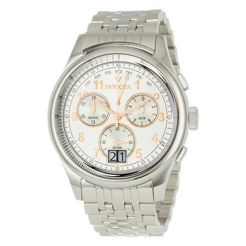 Invicta Vintage Classic Steel Watch