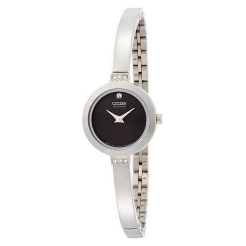Citizen Silhouette Crystal Bangle Eco-Drive EW9920-50 E Watch