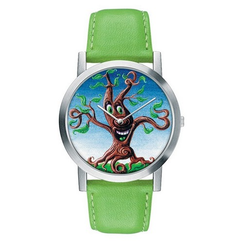 Kenny Scharf for the Movado Artists Series Tree Dial Watch