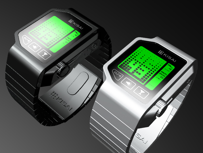 Tokyoflash Kisai Breathalyzer Watch