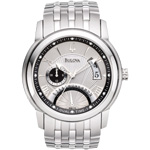 Bulova Dress Dual-Time Sunray 96B110
