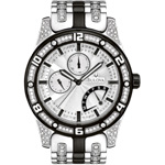 The Glittering Bold Timepiece – Bulova Crystal Men's Watch 98C103
