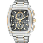 Citizen Eco-Drive Chronograph WR100 Watch CA0096-54H