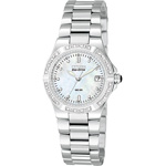 Citizen Riva Eco-Drive Diamond Accented Stainless Steel Watch  EW0890-58D