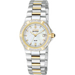 Citizen Riva Eco-Drive Diamond Accented Stainless Steel Watch  EW0894-57D