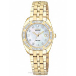 Citizen Eco-Drive Paladion Two-Tone Watch EW1592-51D