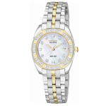 Citizen Eco-Drive Paladion Two-Tone Watch EW1594-55D