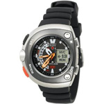 Citizen Aqualand Black Imperial Dive Watch JV0020-12F