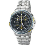 Citizen Eco-Drive Blue Angels Skyhawk A-T Chronograph Watch JY0040-59L