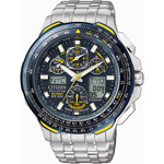 Citizen Eco-Drive Blue Angels Skyhawk A-T Chronograph Watch JY0050-55L