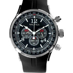 Nautica NSR-01 Black Chronograph Watch N13530G