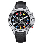 Nautica Men's NST Chronograph Flags Watch N16553G