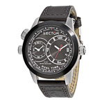 Sector Urban Oversize Dual Time Watch R3251102125