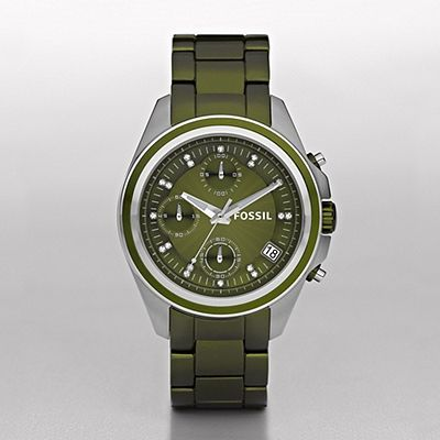 Fossil Decker Boyfriend Aluminum Watch