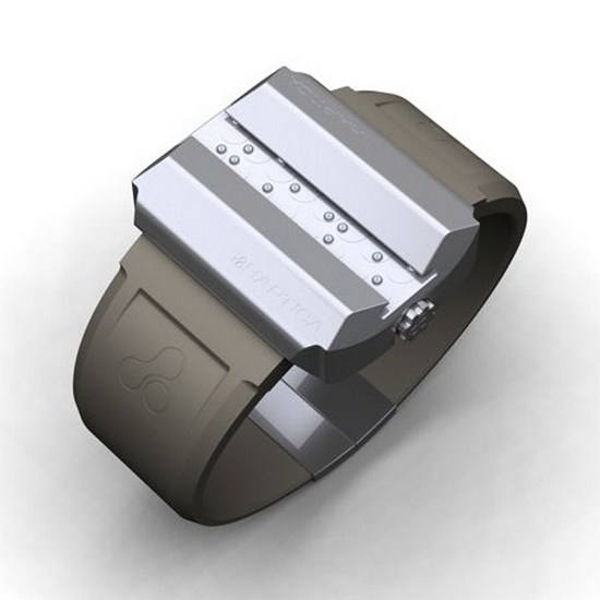 Haptica Braille Watch Concept