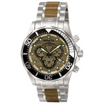 Invicta Pro Diver Elemental Watch in Wood Color 0165
