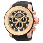 Invicta Pro Diver Sea Hunter Chrono Watch 0416