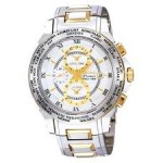 Seiko Premier World Timer Alarm Watch spl010p1