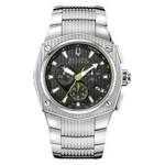 Bulova Accutron Corvara Chronograph Watch 63b111
