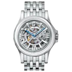 Bulova Accutron Kirkwood Skeleton Dial Watch 63a001
