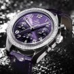 Omega Ladies Speedmaster Automatic Chronometer Watch Purple