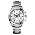Omega Seamaster Aqua Terra GMT Chronograph Watch 231.10.44.50.04.001