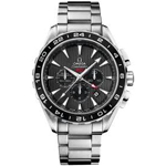 Omega Seamaster Aqua Terra GMT Chronograph Watch 231.10.44.52.06.001