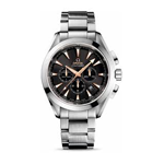 Omega Seamaster Aqua Terra GMT Chronograph Watch 231.50.44.50.01.001