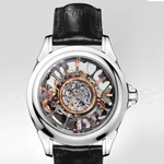 Omega Skeleton Central Tourbillon Co-Axial Platinum Limited Edition Watch 513.93.39.21.99.001