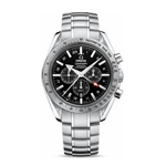 Omega Speedmaster Broad Arrow GMT Co-Axial Chronograph Watch 3581.50.00