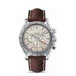 Omega Speedmaster Broad Arrow GMT Co-Axial Chronograph Watch 3881.30.37