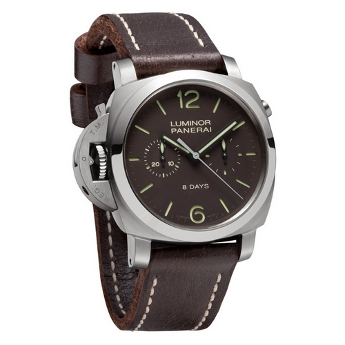 Panerai Panerai Luminor 1950 Chrono Monopulsante Left-handed 8 Days Titanio 44mm PAM00345 Watch