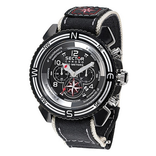 Sector Mountain Collection Centurion Wind Rose Chronograph Watch