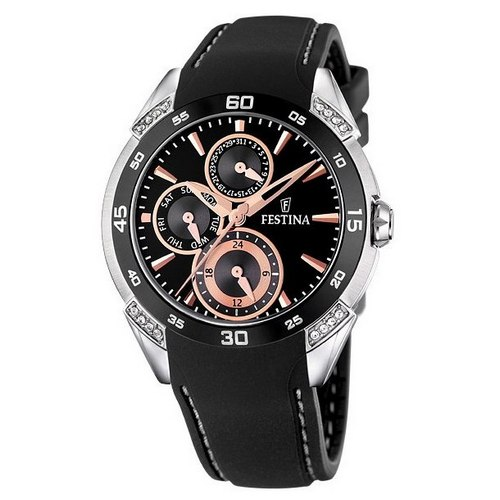 Festina Ceramic Multifunction Ladies' Watch