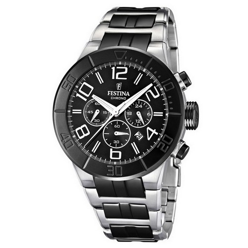 Festina Ceramic Chronograph Mens Watch