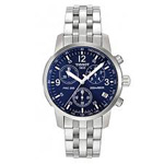 Tissot PRC 200 Mens Quartz Chronograph Watch  T17158642