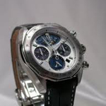 Citizen Signature Moon Phase Flyback Chronograph Watch AV3000-05A