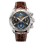 Citizen Signature Moon Phase Flyback Chronograph Watch AV3006-09E