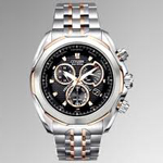 Citizen Signature Moon Phase Flyback Chronograph Watch AV3006-50H