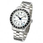 Fortis B-42 Diver GMT 3 Time Zones Watch 650.10.12