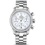 Omega Ladies' Speedmaster Automatic Chronometer Watch 324.15.38.40.05.001